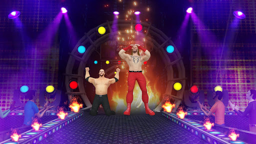 Tag Team Wrestling Games: Mega Cage Ring Fighting modavailable screenshots 8