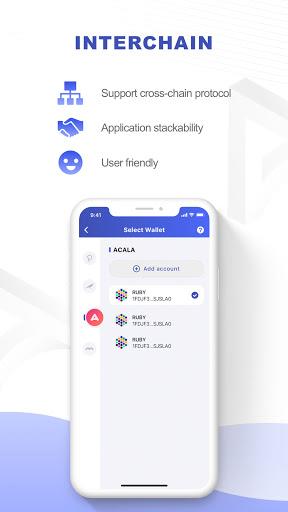 Polkawallet android2mod screenshots 3