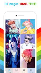BTS Color By Number