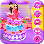 Wedding Doll Cakes Maker Cooking Chef Empire