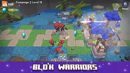 Blo'k Warriors MOD APK 0.6.5 (Unlimited Money) 6