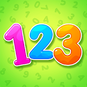 Numbers for kids! Counting 123 games!
