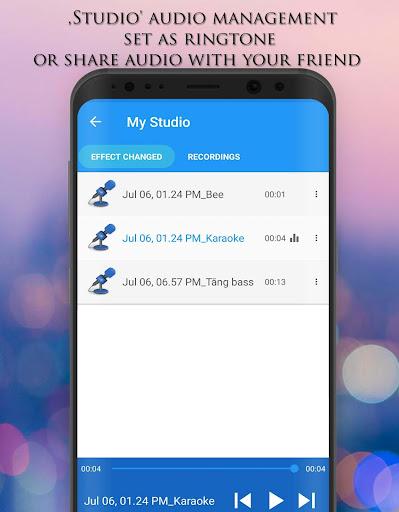 Voice Changer - Audio Effects 1.7.4 Screenshots 6