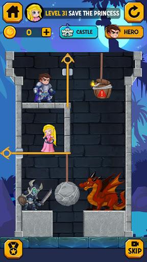Rescue Hero: Pull the Pin - Halloween modiapk screenshots 1