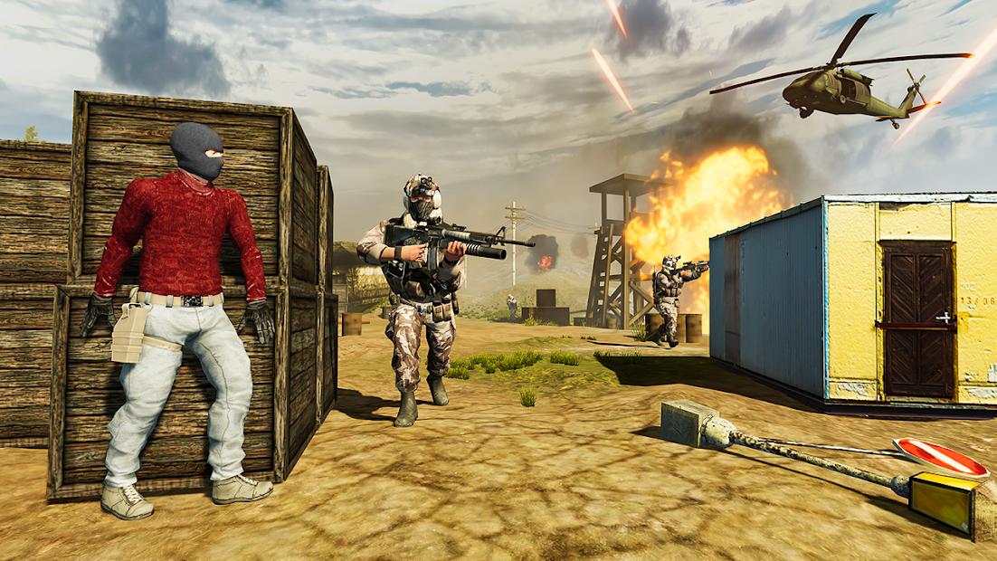 War Commando 3D - New Action Games 2021 screenshot 1