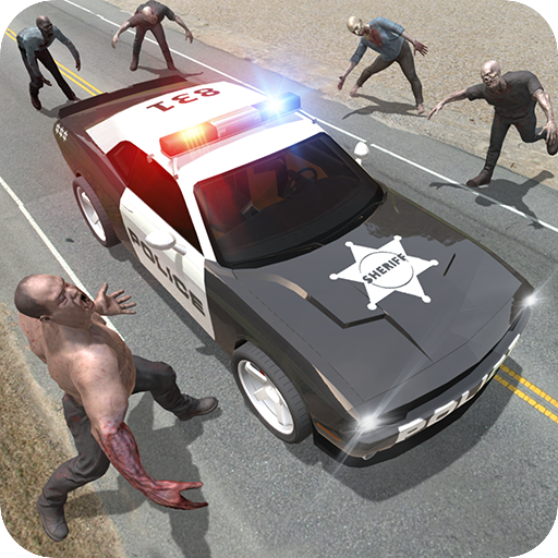 Police vs Zombie - Action games Icon