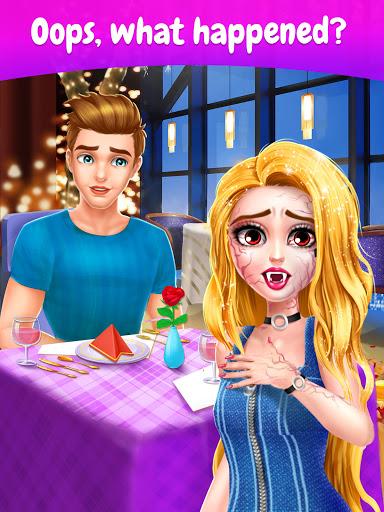 Secret High: Merge Make-Up Story Games For Girls  screenshots 1