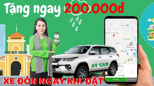 GV - Ứng dụng đặt xe hơi, xe máy, taxi, giao hàng 8.5 screenshots 1