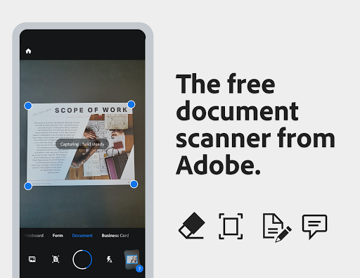 Adobe Scan: PDF Scanner with OCR, PDF Creator 20.09.22-regular Screenshots 1