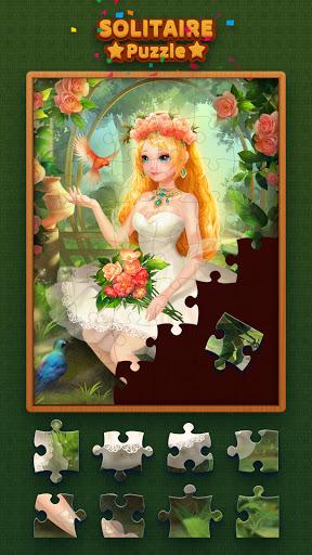 Solitaire Jigsaw kingdom 2.0.1 screenshots 1
