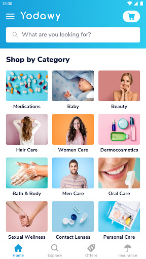 Yodawy - Pharmacy Delivery App 2.1.0 Screenshots 1
