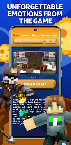 Download Mods Maps Skins for Minecraft mod apk 1