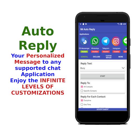IM Auto Reply 8.9.5 Screenshots 1