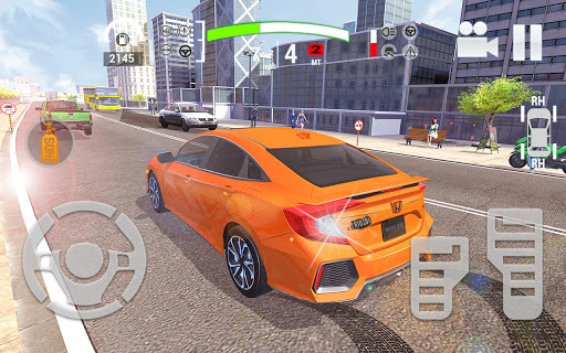 City Car Simulator 2020: Civic Driving  Screenshots 3