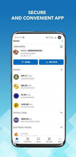 WebMoney Keeper 4.5.0.R-132 Screenshots 1