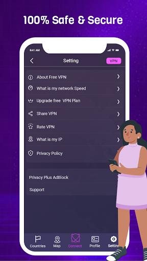 VPN King - Free VPN Proxy Server & Secure VPN App apktram screenshots 6