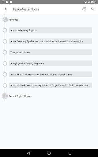 Tintinalli's Emergency Medicine Manual App  Screenshots 21