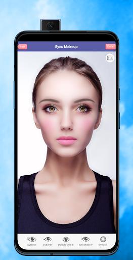Face Makeup & Beauty Selfie Makeup Photo Editor 1.2 Screenshots 5