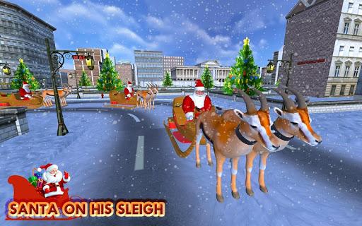 Christmas Santa Rush Gift Delivery- New Game 2020 2.5 screenshots 12