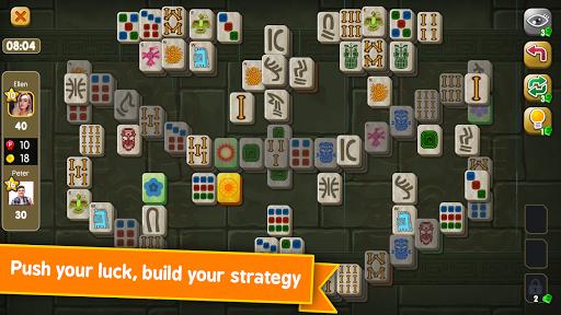 Mahjong Maya Puzzle Live Duels  screenshots 4