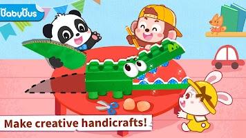 Baby Panda's Animal Puzzle