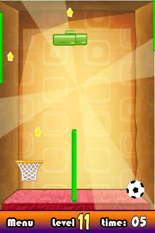 wall free throw soccer game screenshot 3