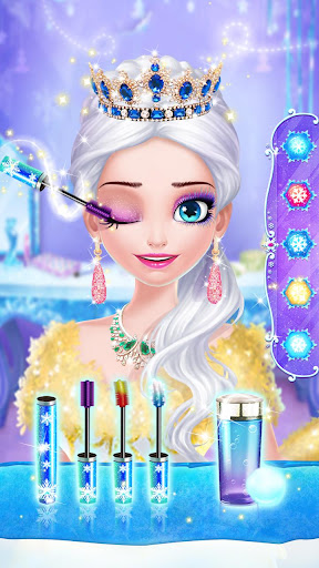 ud83dudc78ud83cudff0Ice Princess Makeup Fever screenshots 2