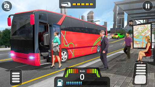 City Coach Bus Simulator 2021 - PvP Free Bus Games  screenshots 12