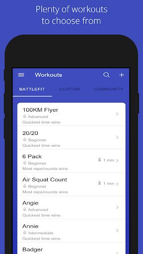 BattleFit screenshot 1