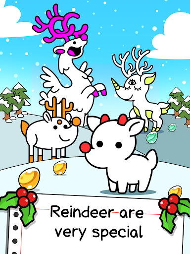 Reindeer Evolution - Mutant Christmas Monsters android2mod screenshots 5