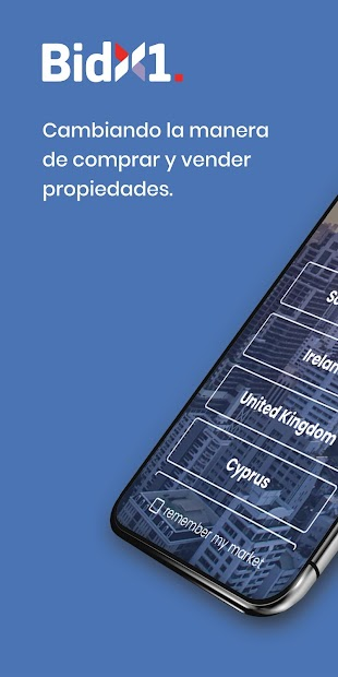 Captura de Pantalla 2 de BidX1 Mobile para android