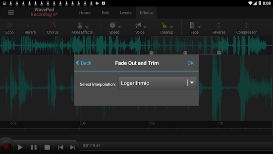 WavePad Audio Editor - Master's Edition Screenshot