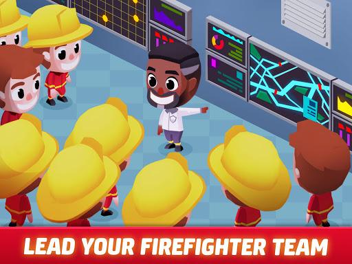 Idle Firefighter Tycoon - Fire Emergency Manager apktram screenshots 19