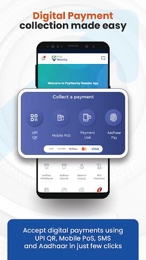 PayNearby Retailer - Aadhaar ATM, Money Transfer android2mod screenshots 3
