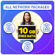 Daily Free Internet Data All Network Packages 2021