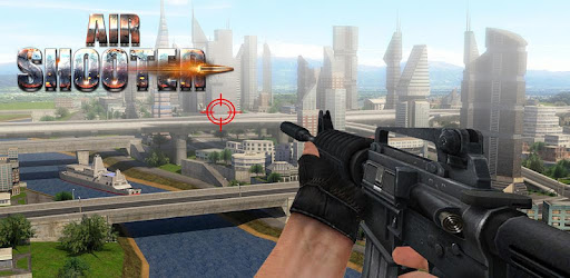 Screenshot of Air Force Shooter 3D - Helicopter Shooting Games