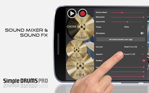 Simple Drums Pro - The Complete Drum Set 1.3.2 Screenshots 3