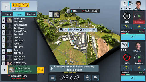 Motorsport Manager Online screenshots 4