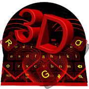3D Classic Romantic Love Heart Keyboard