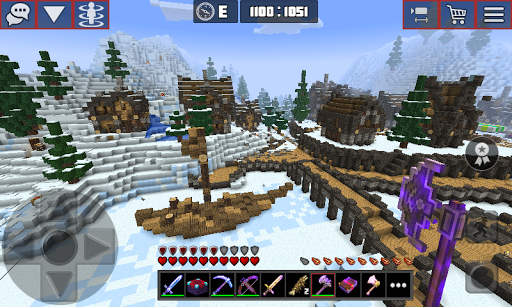 Planet of Cubes Craft Survival apkslow screenshots 6