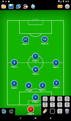 Coach Tactic Board: Soccer 1.3 Screenshots 9