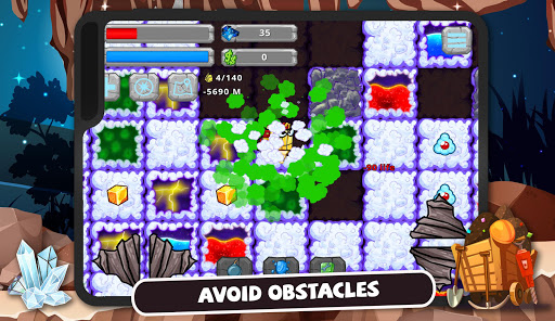 Digger Machine: dig and find minerals modavailable screenshots 9