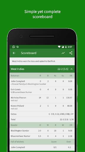 Cricket Scorer 2.9.0 Screenshots 3