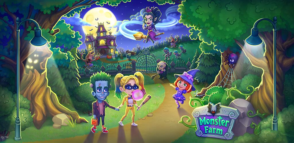 Monster Farm - Happy Ghost Village - Witch Mansion poster 0