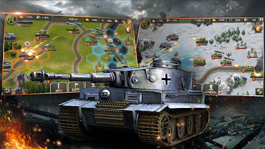 World War 2: WW2 Strategy Games 3
