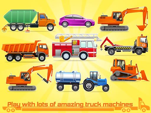 Kids Truck Games: Car Wash & Road Adventure android2mod screenshots 8