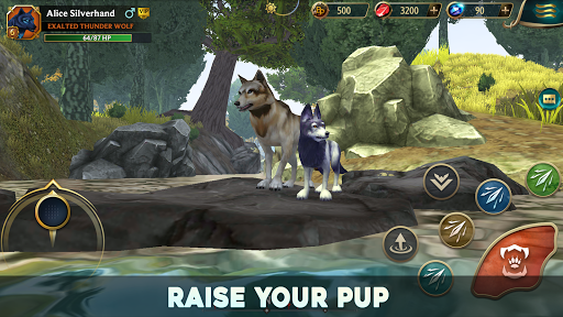 Wolf Tales - Online Wild Animal Sim 200152 screenshots 9