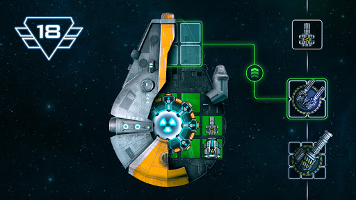 Space Arena: Spaceship game - Build & Fight android2mod screenshots 5