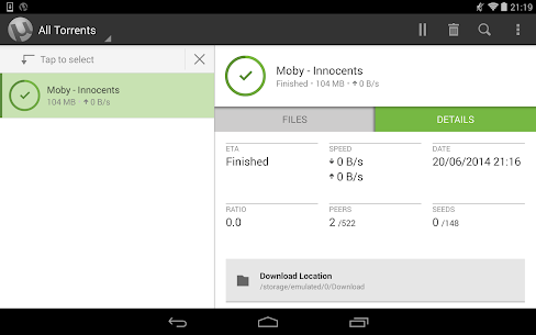 UTorrent Pro Apk v6.5.7 (All unlocked) Free for Android 9