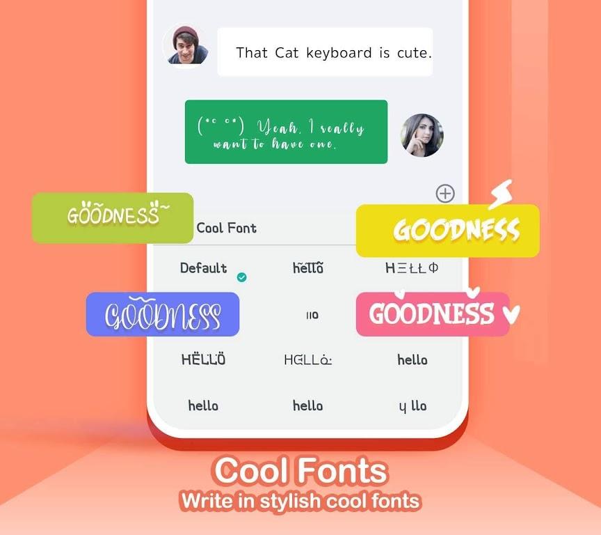Kika Keyboard 2021 poster 3
